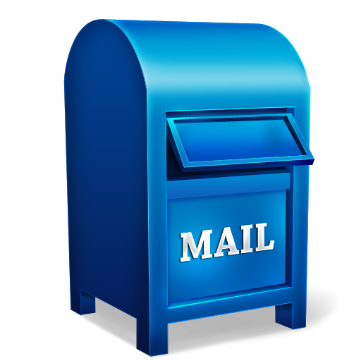 Letter Red Blue Drop Boxes Mail Box Icon Mailbox Wedding Stamp Out Of Office Message