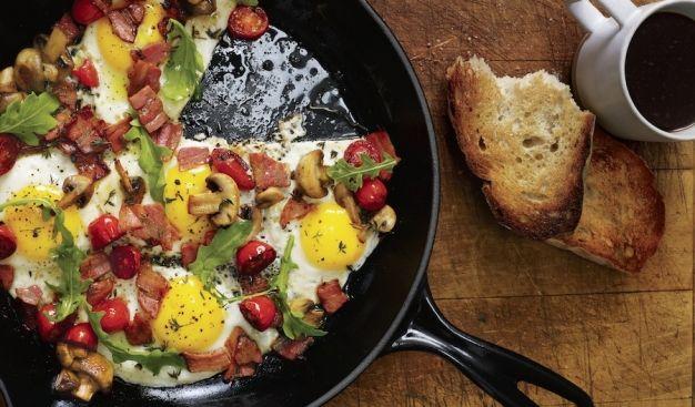 El desayuno rústico #sundaybrunch