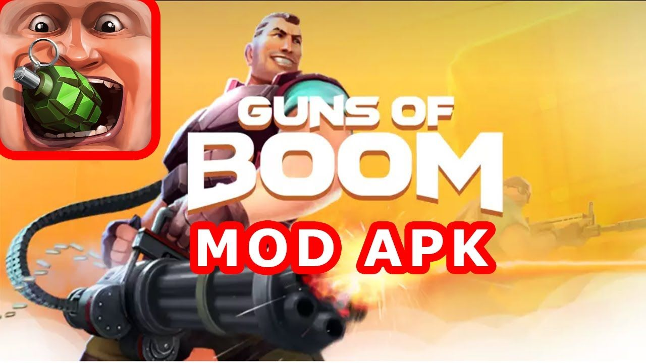 Guns of Boom Mod APK - Hack Instant Reload, No Recoil, Rapid