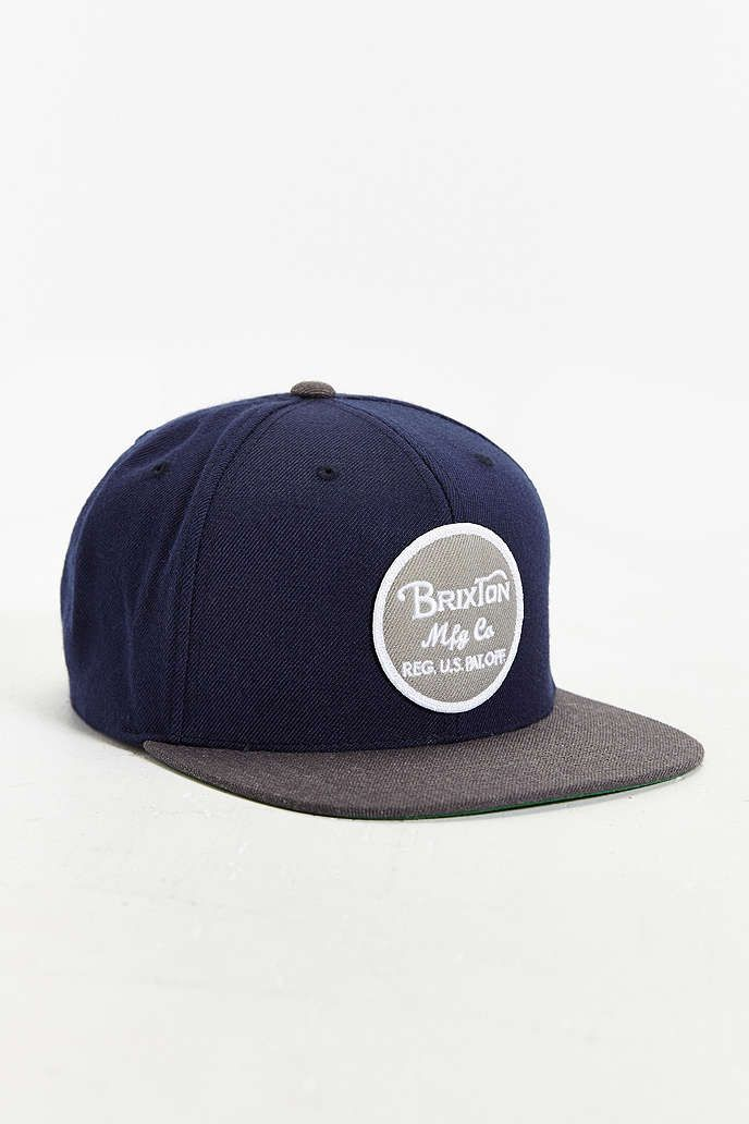 Brixton Wheeler Snapback Hat - Urban Outfitters  fd786cab9501