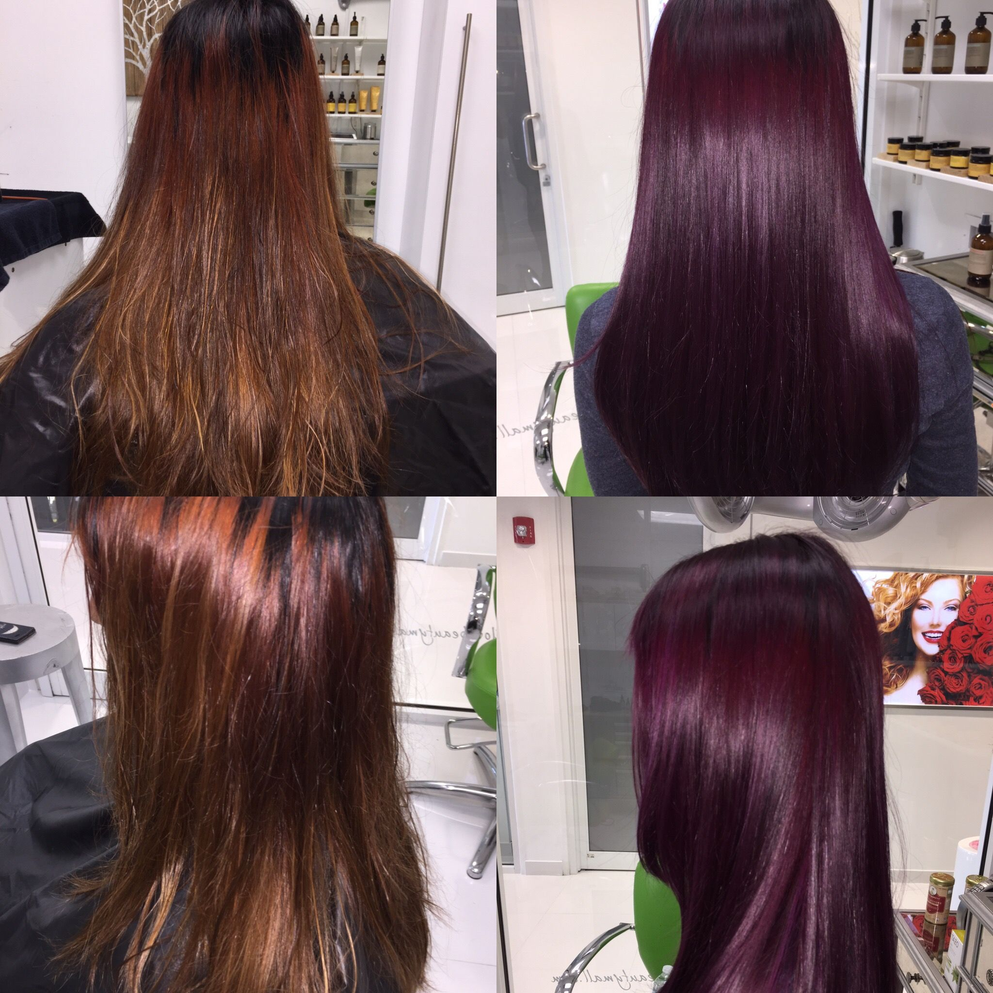 From Faded To Mulberry Madness The Organic Way Wine Hair Hair Inspiration Color Burgundy Hair