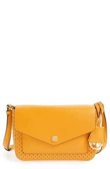 fbaefe8fd99c14 MICHAEL MICHAEL KORS 'Small Greenwich' Perforated Leather Crossbody Bag. # michaelmichaelkors #bags #shoulder bags #leather #crossbody
