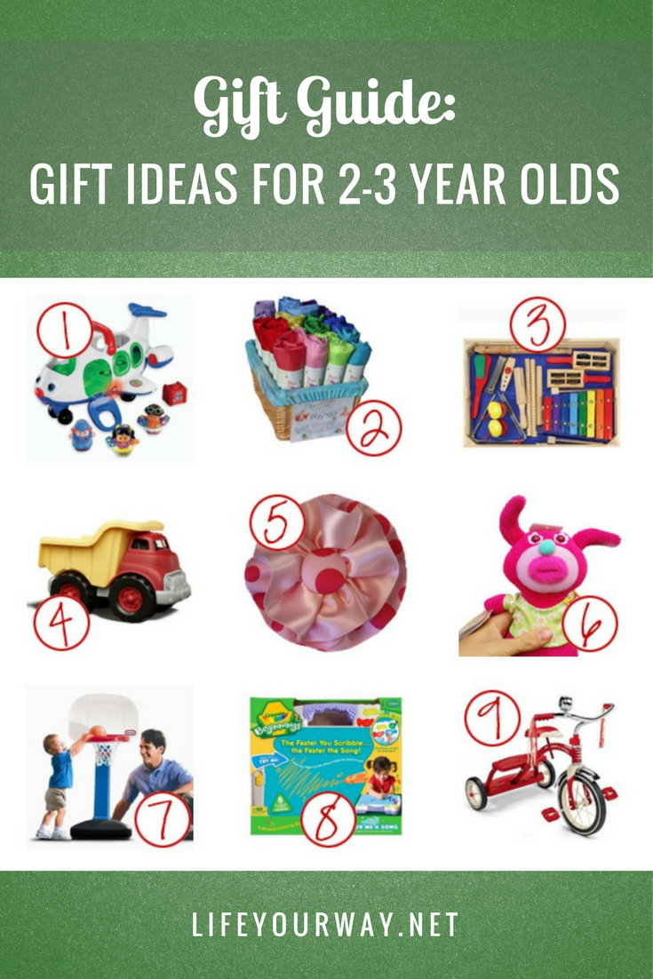Gift Guide: Gift Ideas for 2-3 Year Olds | Gift guide, 3 year olds, Gifts
