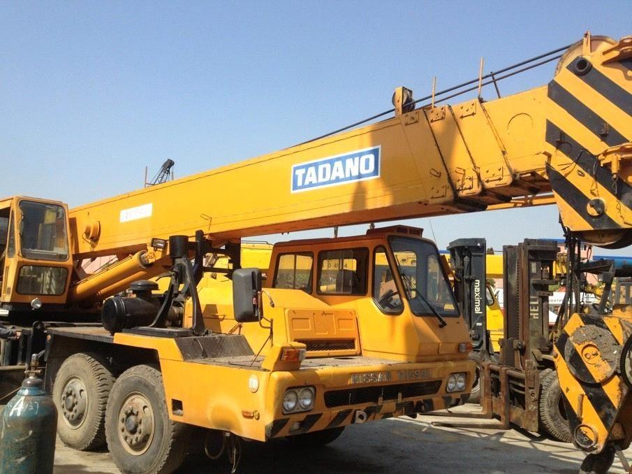 USED TADANO 50T MOBILE TRUCK CRANE 4 BOOM NISSAN CHASSIS (TG-500E-3