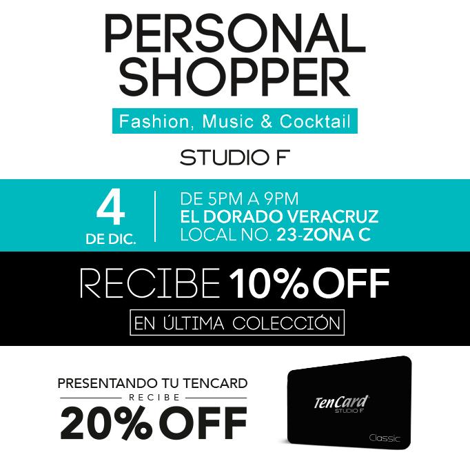 STUDIO F: No te pierdas nuestro próximo #PersonalShopper en compañía... ¡de nuestra experta en moda MICHELLE AVILA!