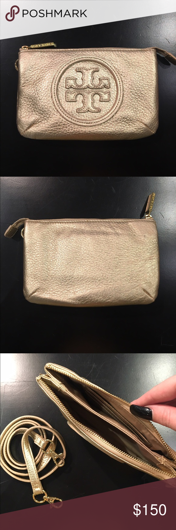 Tory Burch crossbody bag. Tory burch crossbody bag with dual interior. Including credit card slots. Brand new. Tory Burch Bags Crossbody Bags