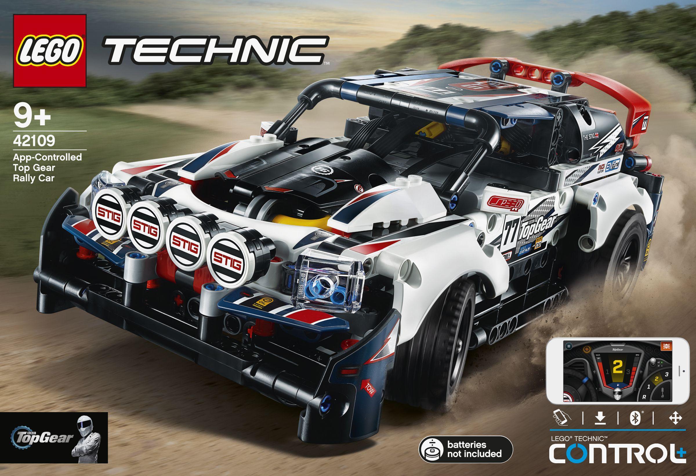 Lego 42109 Top Gear Rally Car Лего