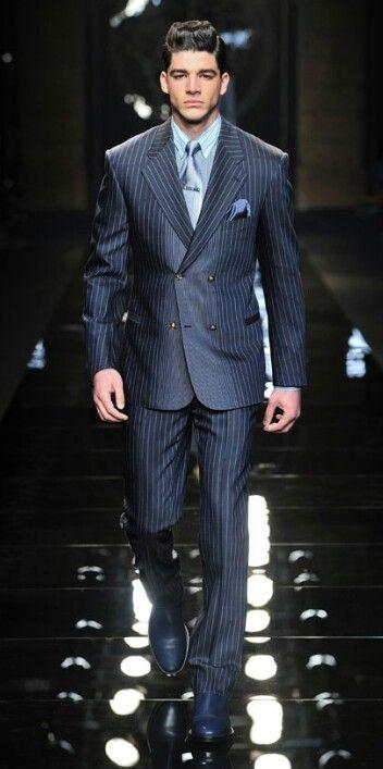 14845d58e0 Suit Up♢Versace | Designer Suits in 2019 | Versace men, Mens ...