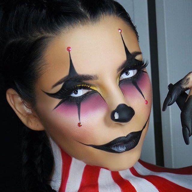Beautiful Halloween Make Up Clown Contemporary - harrop.us - harrop.us
