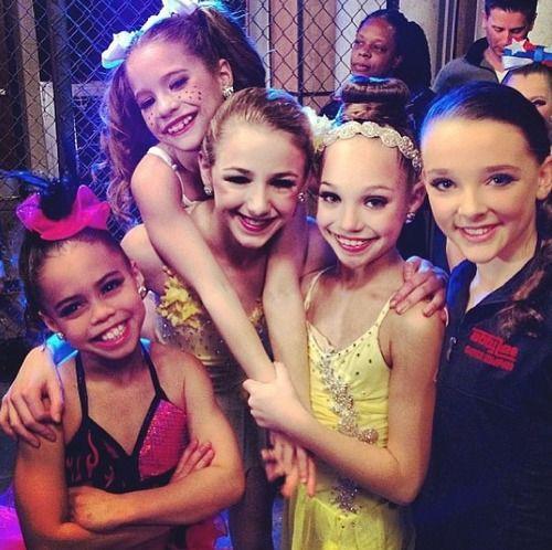Kendall, Maddie, Mackenzie, Chloe, Asia