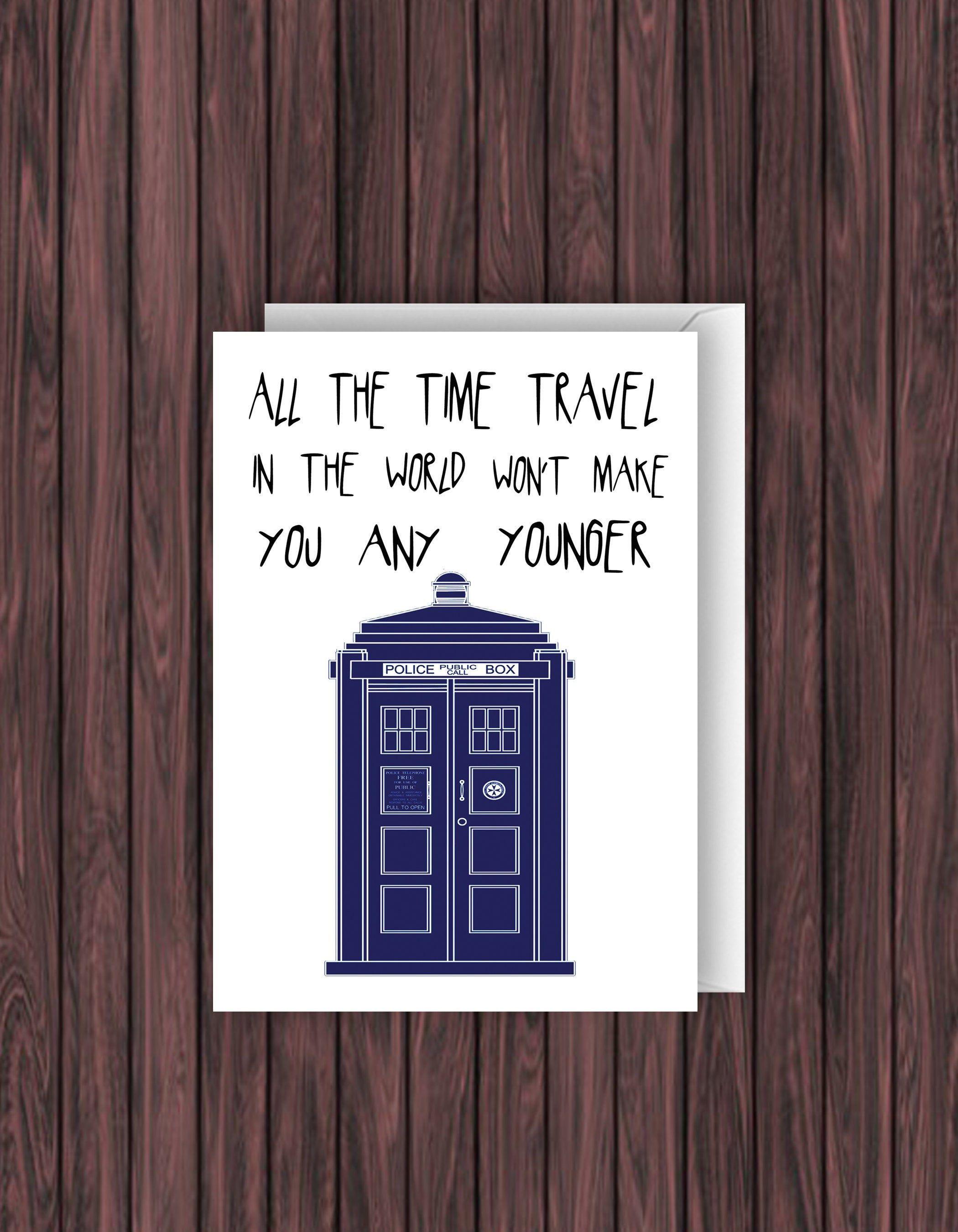 Doctor Who Birthday Card Funny Birthday Card Geek Birthday Etsy Dr Who Birthday Card Funny Birthday Cards Doctor Who Birthday