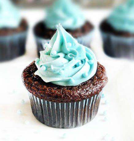 Blue Velvet Baby Shower Cupcakes Cupcake Recipes Vegan Cupcake
