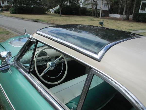 Glass Roof Demo Hood Rare Factory 1954 Ford Crestline Skyliner 1954 Ford Glass Roof Ford Trucks