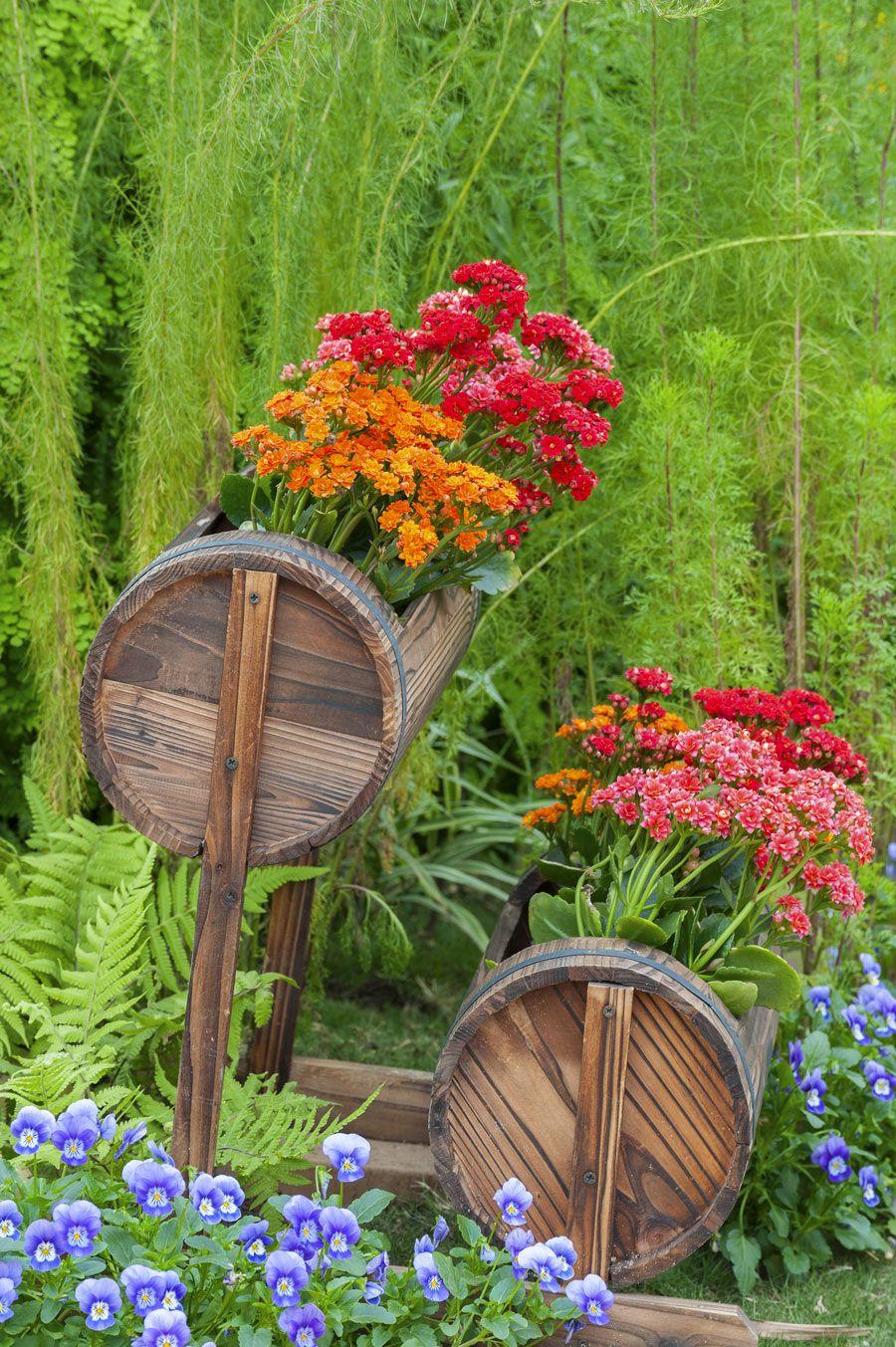 Fioriere Originali Fai Da Te pin su idee giardino | garden