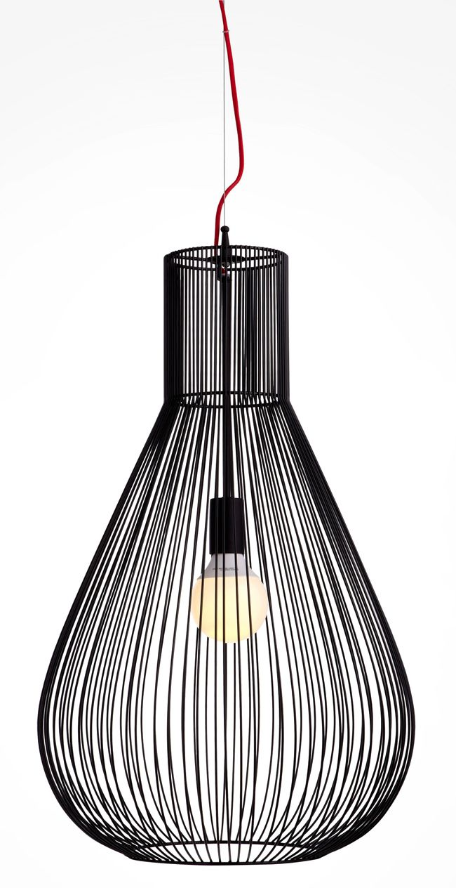 suspension colours taiyo noir x cm home. Black Bedroom Furniture Sets. Home Design Ideas