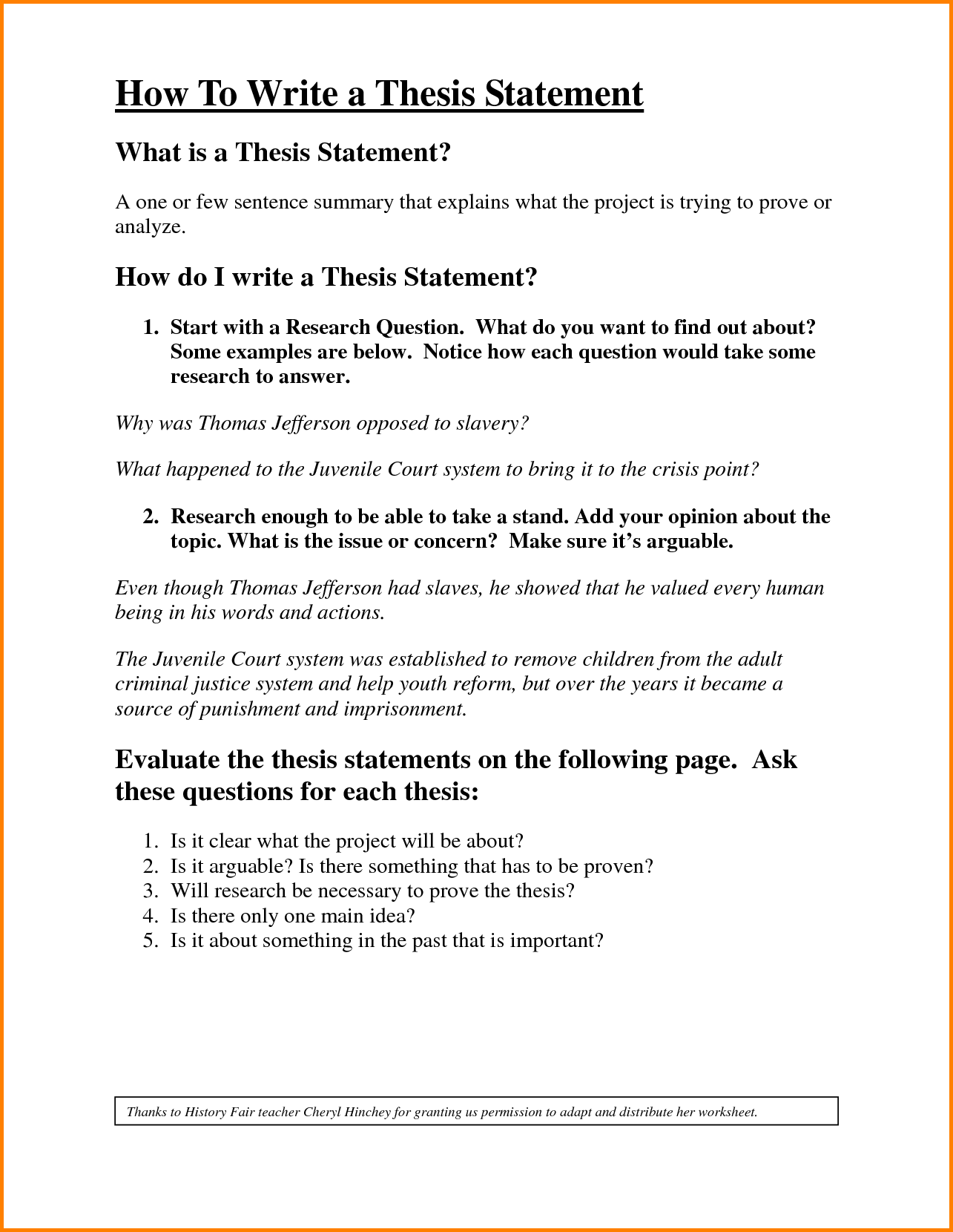 thesis statement examples for history essays   thesis statements