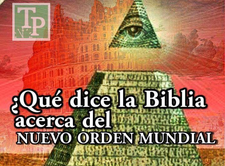 Qué Dice La Biblia Acerca Del Nuevo Orden Mundial Profecias De La Biblia Palabras De La Biblia Nuevo Orden Mundial