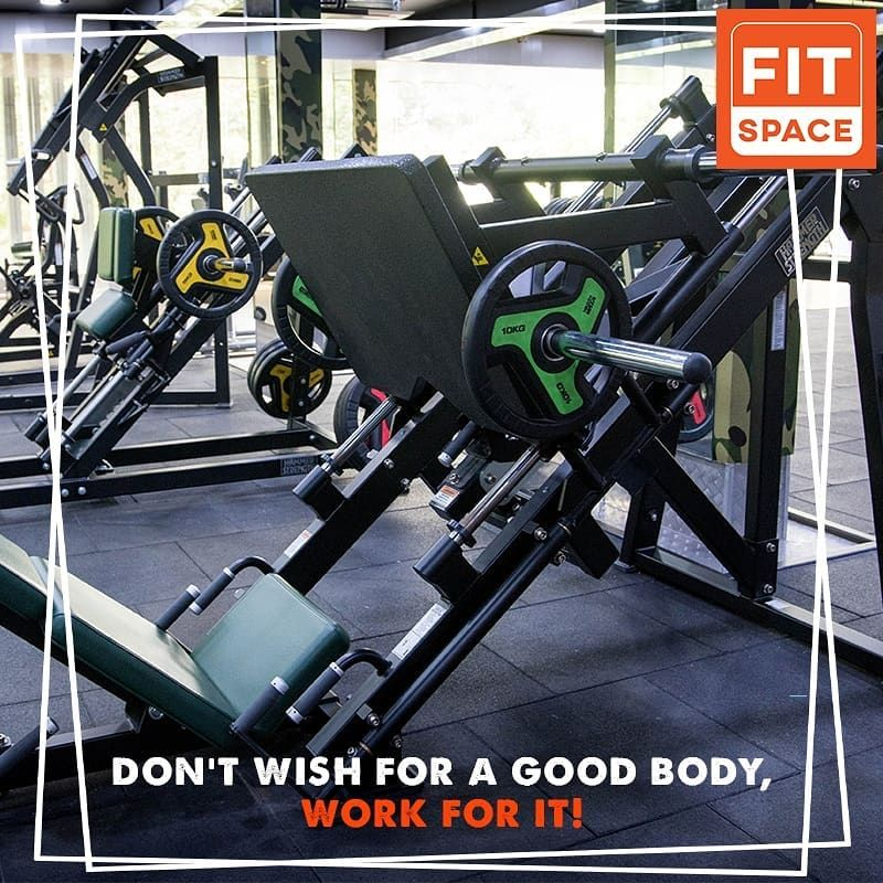 Don't wish for a good body, WORK FOR IT! Get in touch with us today... Call us at 6362800922 / 080 4...