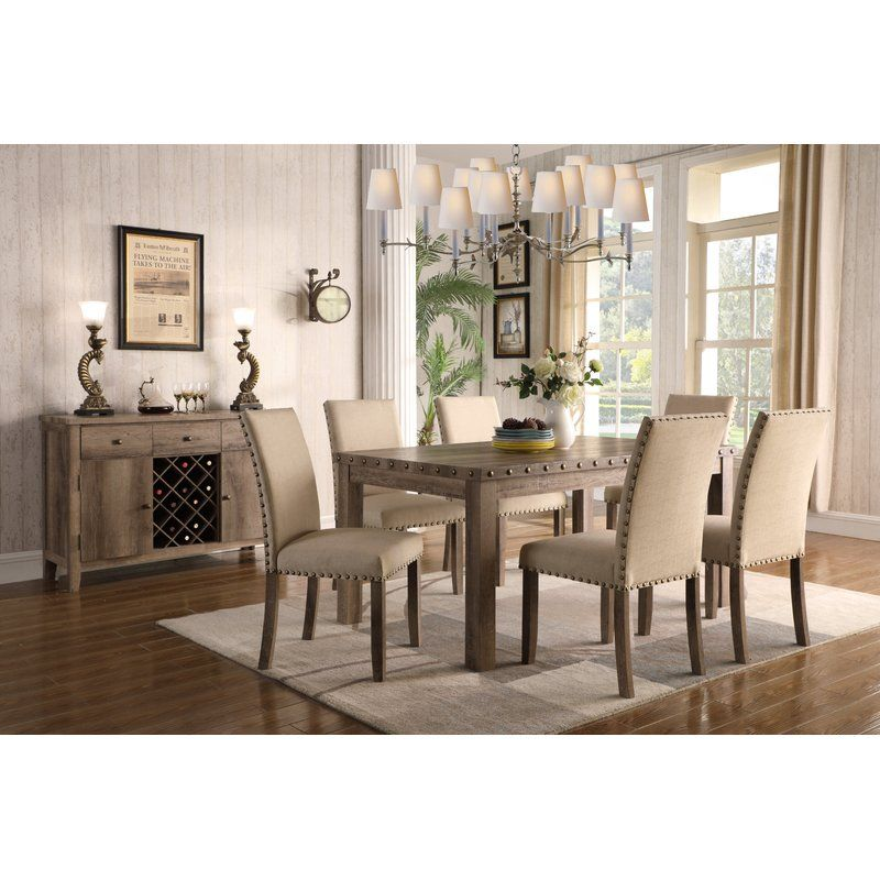 Best Quattlebaum 7 Piece Dining Set Dining Room Sets Solid 400 x 300