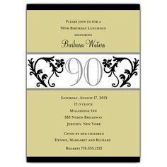birthday free printable 90th birthday invitations as an additional