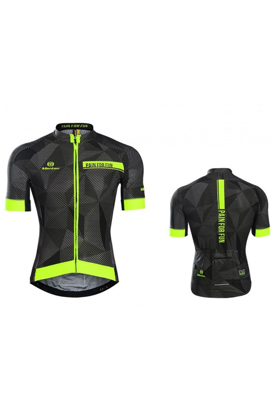 Monton 2016 Mens Best Looking Cycling Jersey Dawn Yellow  a371cab12