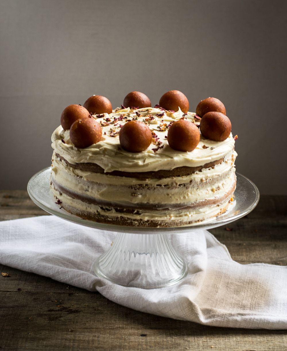 Gulab Jamun Cake Whitbits Kitchen Recipe Gulab Jamun Dark Chocolate Cakes Cake