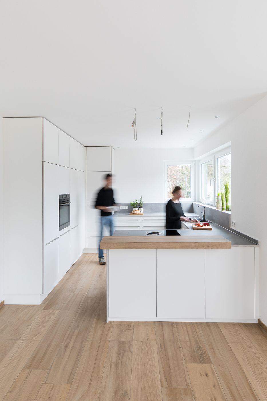 Weiße Küche | Küchenplanung | Küche planen | modern | schlicht ...