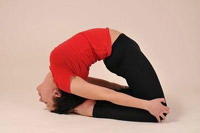 «йогические формы  понятие растяжимое» Капотасана