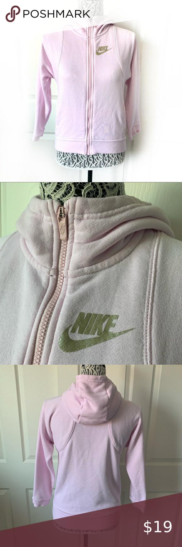 Nike Blush Pink Zip Up Hoodie Sweatshirt Medium Pink Zip Ups Sweatshirts Hoodie Sweatshirts [ 1740 x 580 Pixel ]