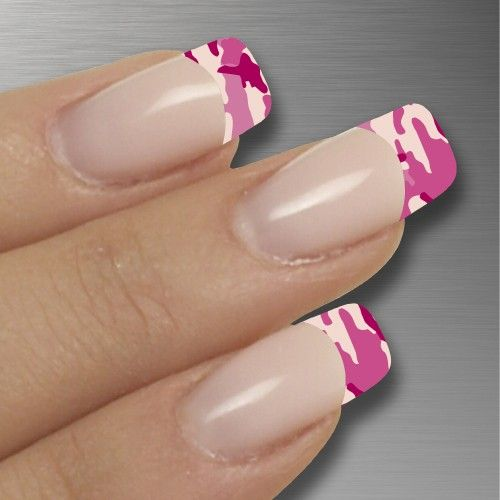 Pink Camo Nails Google Search Nails Nailsnails Pinterest