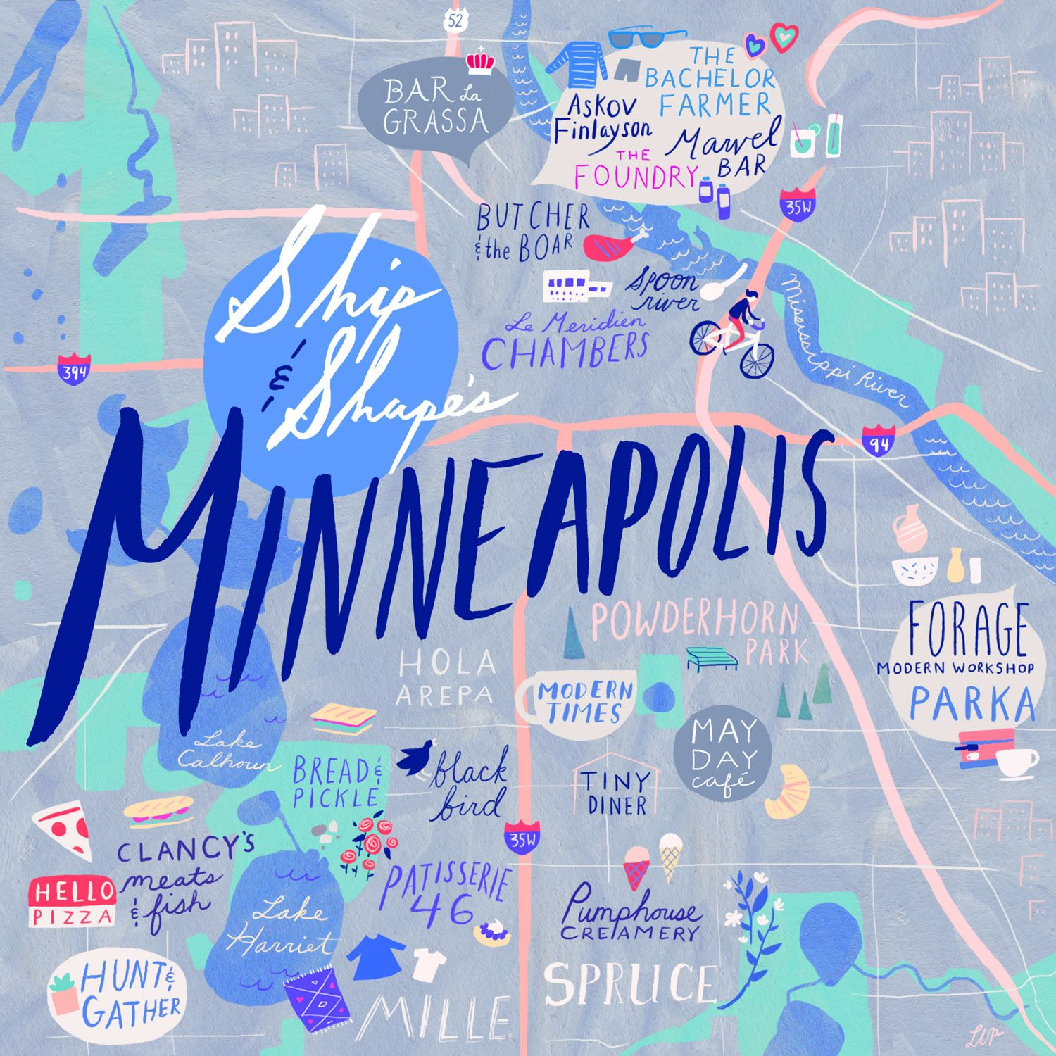24 Hours in Minneapolis with Ship  Shape  For the shoppe