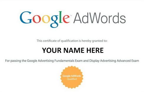 Google Adwords Certification Program  Get Started  Google