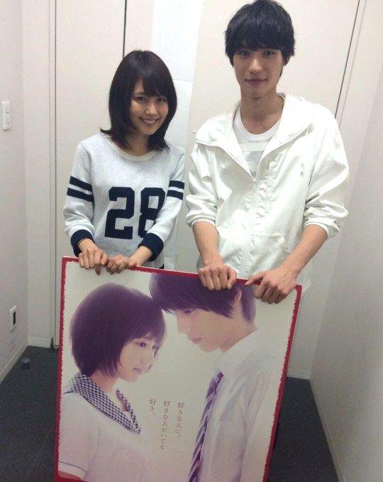 Sota Fukushi x Kasumi Arimura, BTS photo, TV show