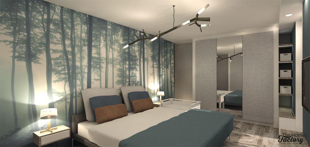 Ontwerp & visualisatie slaapkamer Almere - The Home Factory ...