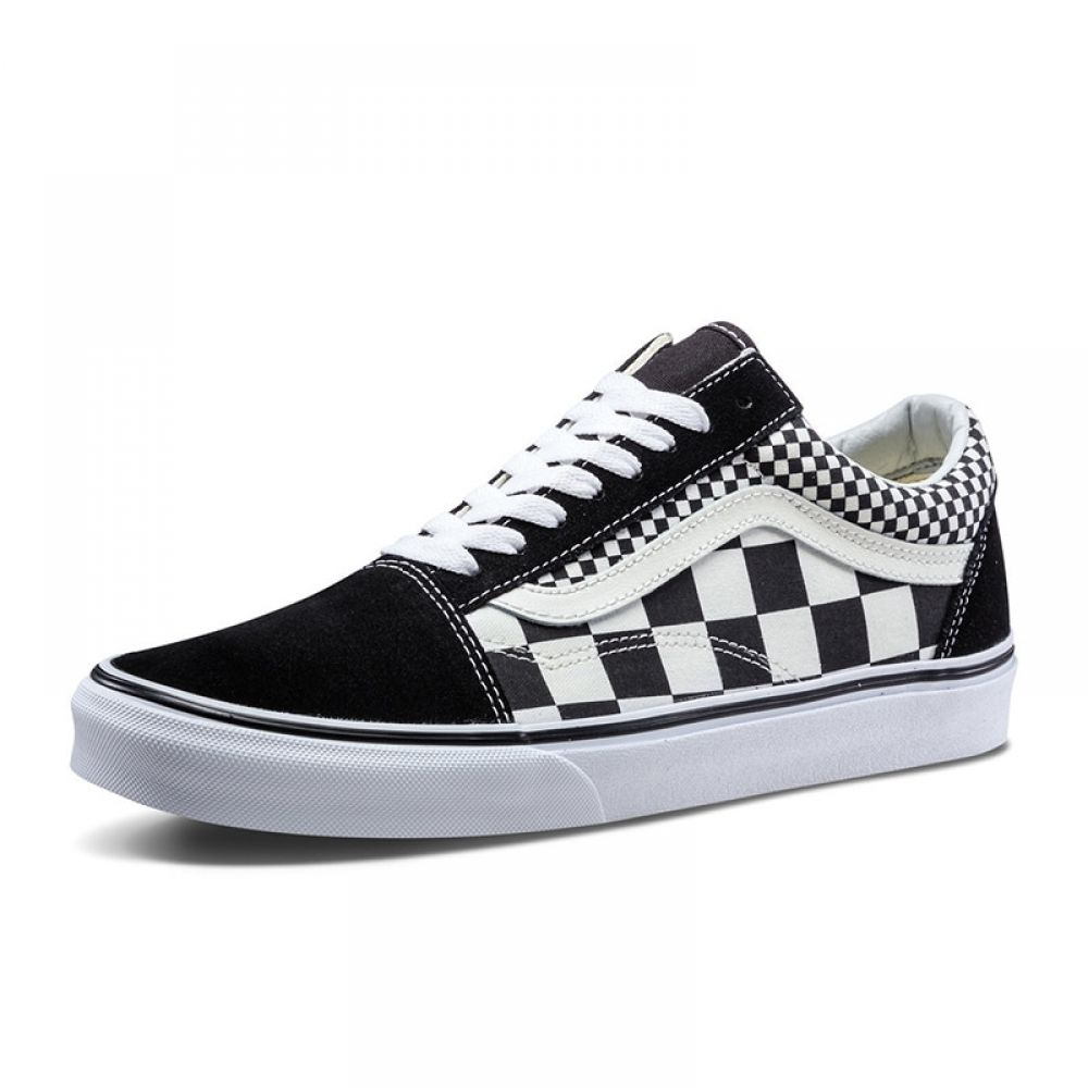Original Vans Classic Old Skool Canvas Shoes With Images