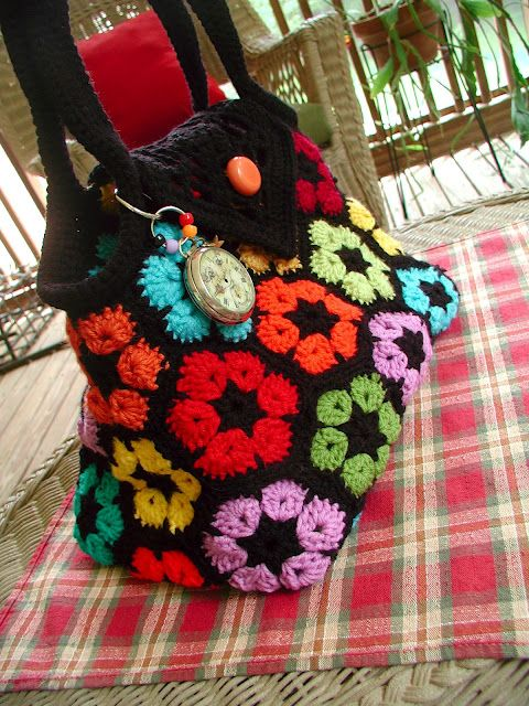 Fiddlesticks Sweet Bag Crochet Inspiration Items Yarn Misc