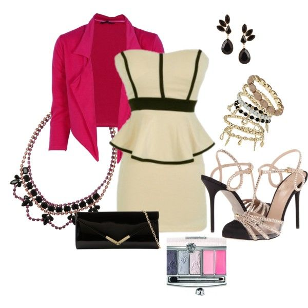 """""""Toque rosa"""" by marie-montes on Polyvore"""