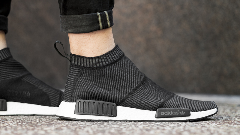 2eae213d9 adidas NMD CS1 Winter Wool Primeknit Black