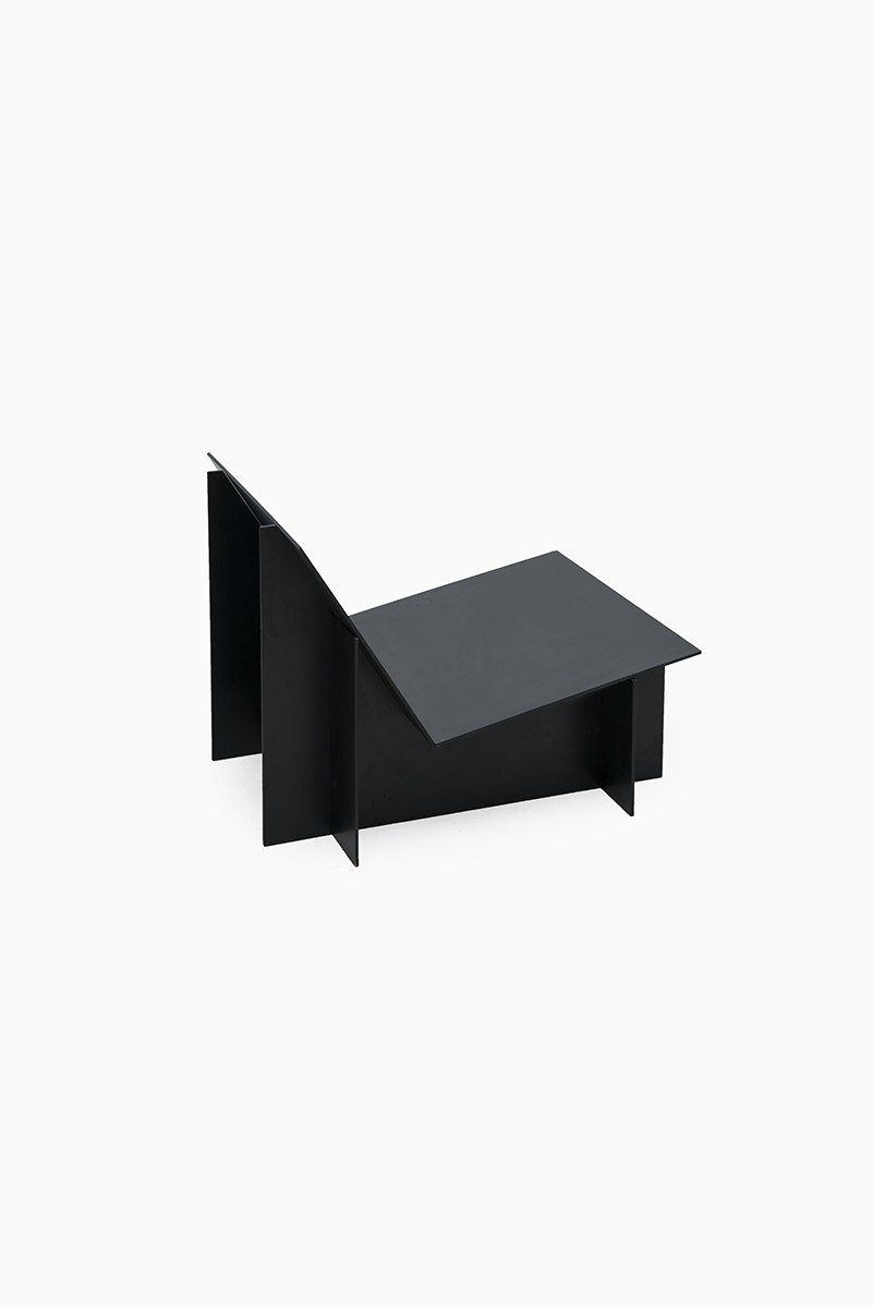 Contemporary black easy chair at Studio Schalling