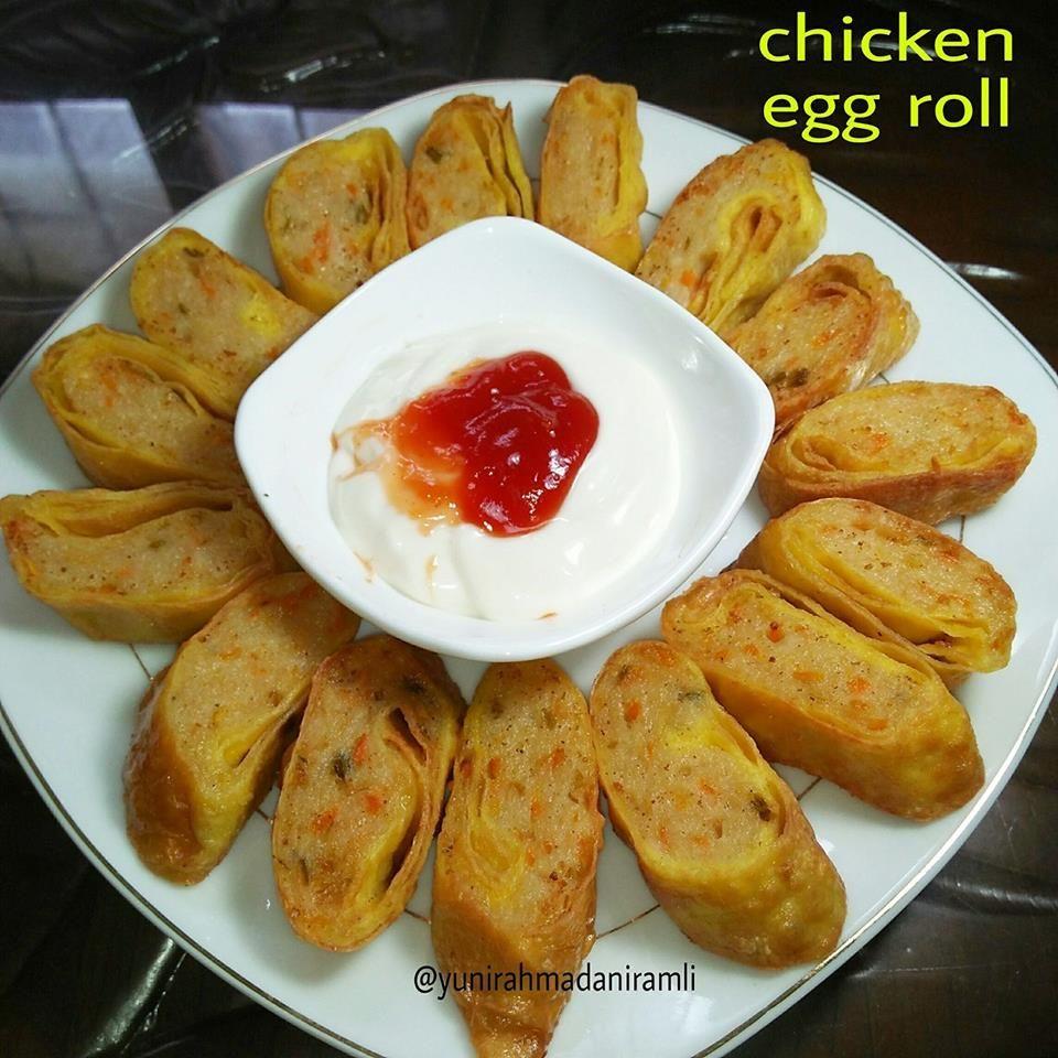 Chicken Egg Roll Sederhana By Yuni Rahmadani Https Www Langsungenak Com P 35543 Chicken Egg Roll Sederhana By Yu Makanan Dan Minuman Makanan Makanan Enak