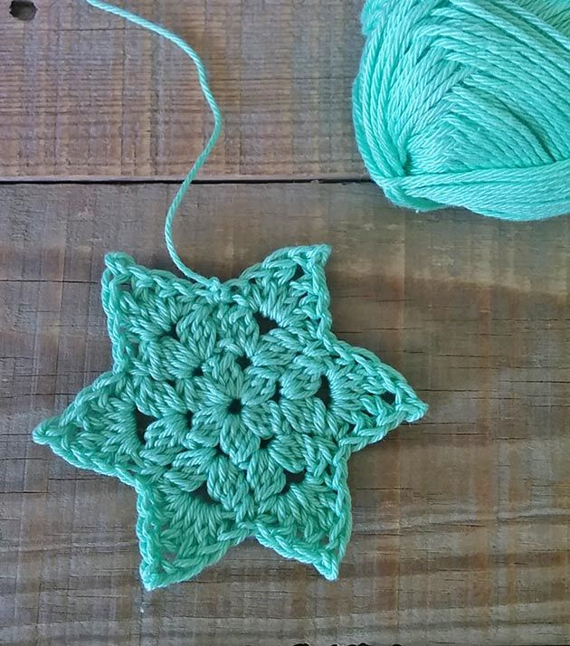 a step by step crochet star tutorial | ganc. | Pinterest | Ganchillo ...