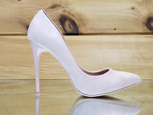 """WeeBoo Red Patent 4.5/"""" High Heel Shoes Pointy Toe Pump 6.5-11"""