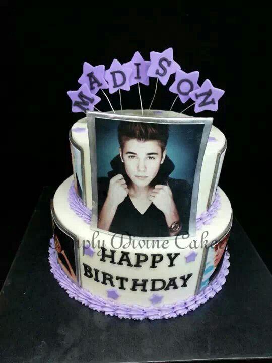 Justin Bieber Cake Justin Bieber Cake 13 Birthday Cake Justin