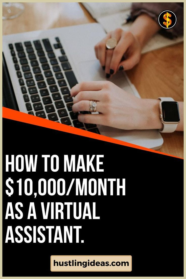 Working as a virtual assistant is a great way to make