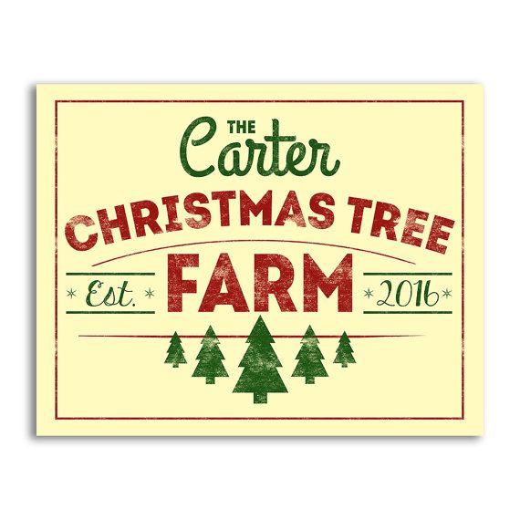 Printable Christmas Tree Farm Sign Christmas Sign By Aycockdesigns With Images Christmas Tree Sale Christmas Tree Farm Established Family Signs