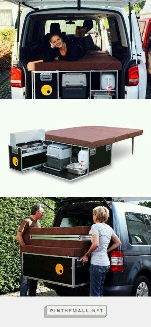 Great Idea To Diy For The Folding Bed Then The Rear Seats Can Be