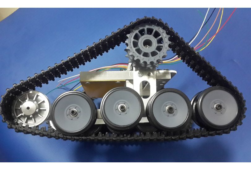 Tank Chassis Caterpillar Track Walle Car Broadland diy RC
