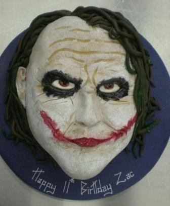 Image detail for Joker face birthday cakes wedding cake glasgow