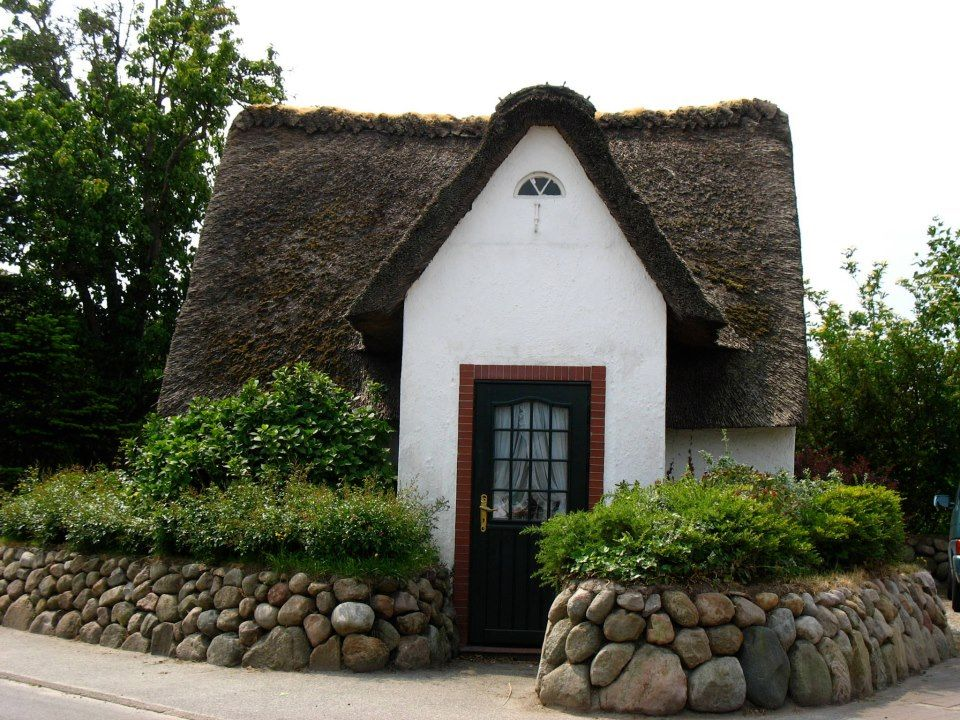 Traditional ThatchedRoof House, Sylt Deutsche häuser