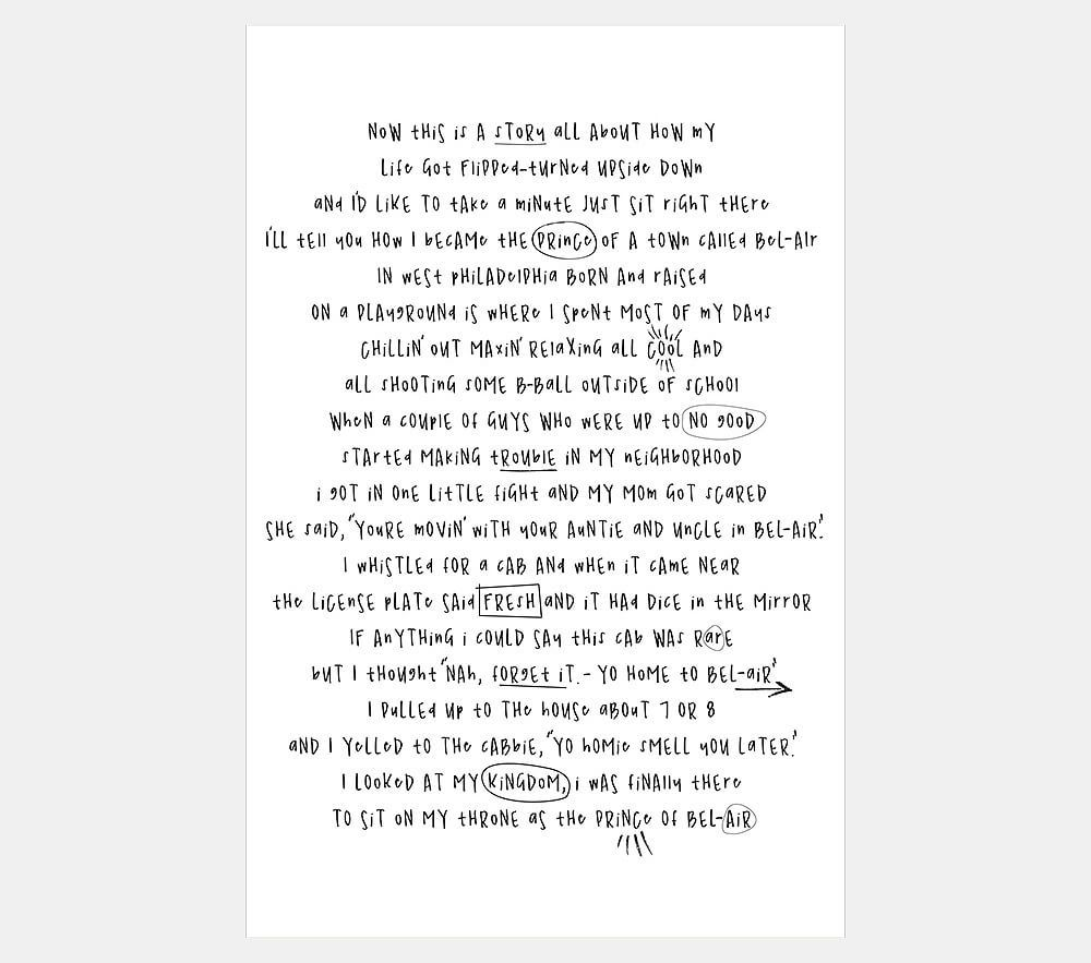 Blankets & Throws Details about Into The Ocean Song Lyrics Blanket ...